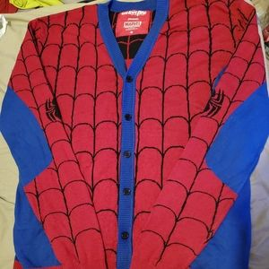 Spider-Man Cardigan Sweater